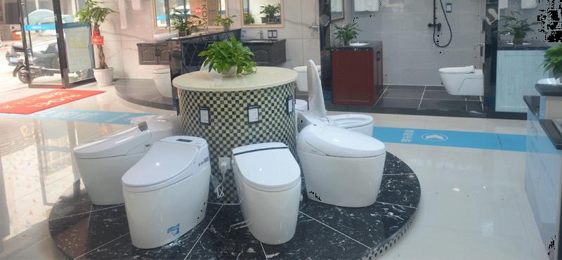 马桶卫浴洁具展厅
